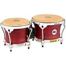 Meinl Woodcraft Bongos 7 and 8.5 in. Vintage Red