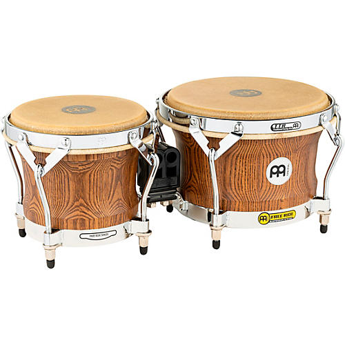 Meinl Woodcraft Series Bongos Zebra Finished Ash