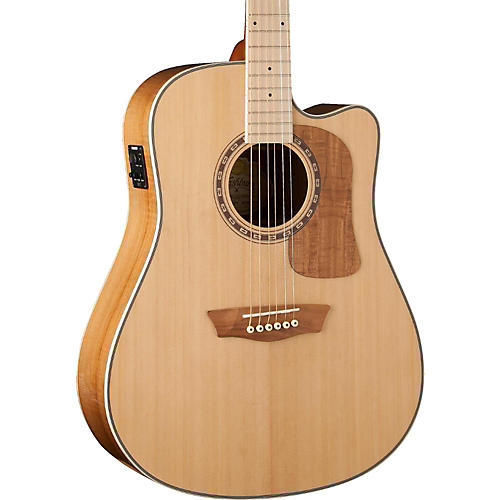 Washburn Woodcraft Series WCSD50SCE Dreadnought Acoustic-Electric Guitar