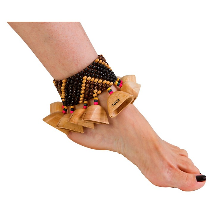 Toca Wooden Ankle/Wrist Rattle