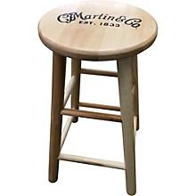 Martin Wooden Ash Logo Bar Stool