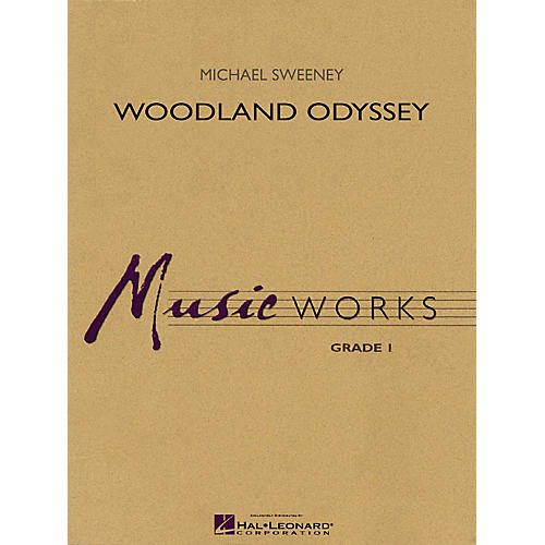 Hal Leonard Woodland Odyssey Concert Band Level 1 Composed by Michael Sweeney-thumbnail