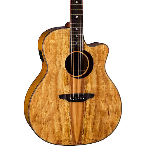 Luna Guitars Woodland Spalted Maple Solid Top Acoustic Electric Guitar-thumbnail
