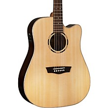 Open Box Washburn Woodline Series WLD20SCE Acoutic-Electric Guitar