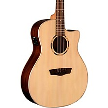 Open BoxWashburn Woodline Series WLO20SCE Acoustic-Electric Cutaway Orchestra Guitar
