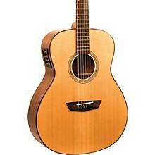 Open BoxWashburn Woodlline Series WLO100SWEK Orchestra Acoustic-Electric Guitar