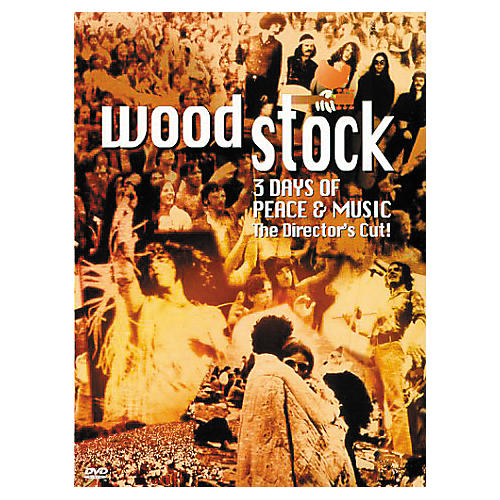Music CD Woodstock: 3 Days of Peace and Music (DVD)-thumbnail
