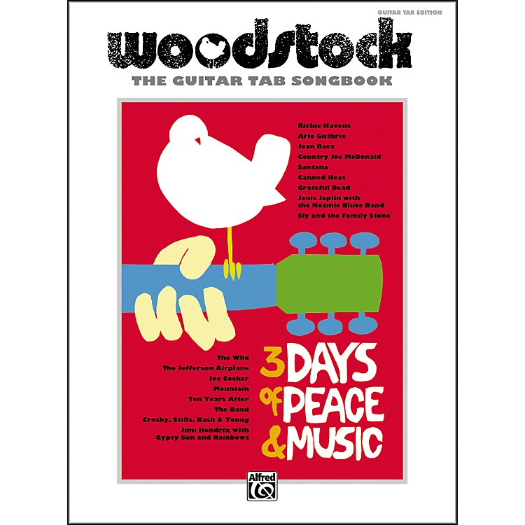 Alfred Woodstock: The Guitar TAB Songbook