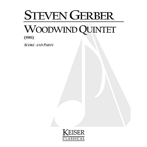 Lauren Keiser Music Publishing Woodwind Quintet LKM Music Series by Steven Gerber-thumbnail