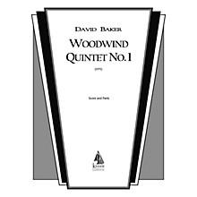 Lauren Keiser Music Publishing Woodwind Quintet No. 1 LKM Music Series by David Baker