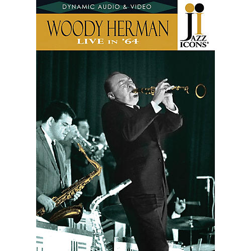 Jazz Icons Woody Herman - Live in '64 (Jazz Icons DVD) DVD Series DVD Performed by Woody Herman-thumbnail