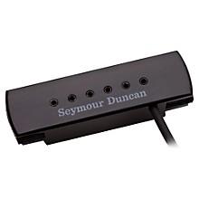 Seymour Duncan Woody XL Adjustable Pole Pieces Soundhole Pickup Level 1 Black