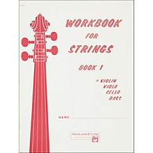 Alfred Workbook for Strings Book 1 Violin