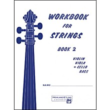 Alfred Workbook for Strings Book 2 Cello