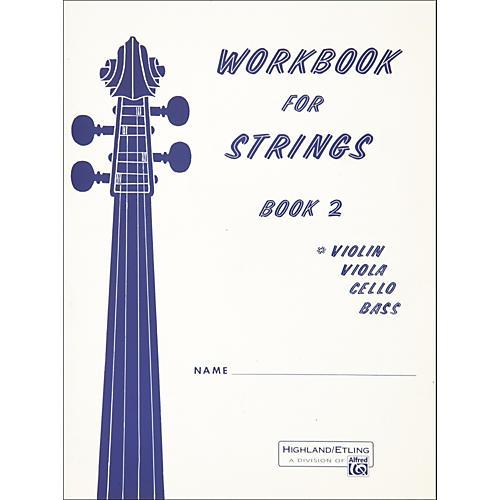 Alfred Workbook for Strings Book 2 Violin