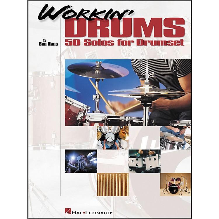 Hal LeonardWorkin' Drums - 50 Solos for Drumset