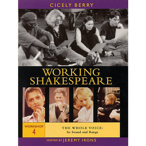 The Working Arts Library/Applause Working Shakespeare Applause Books Series DVD Written by Cicely Berry-thumbnail
