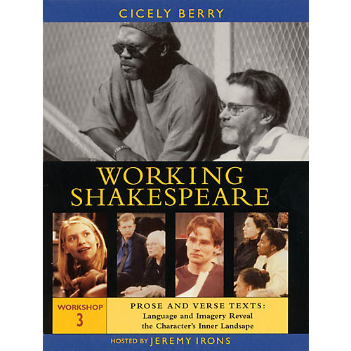 The Working Arts Library/Applause Working Shakespeare Applause Books Series DVD Written by William Shakespeare-thumbnail