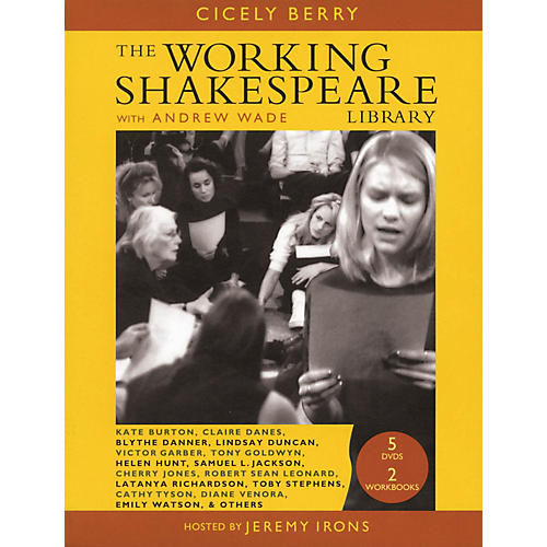 The Working Arts Library/Applause Working Shakespeare Applause Books Series Softcover with DVD Written by Cicely Berry-thumbnail