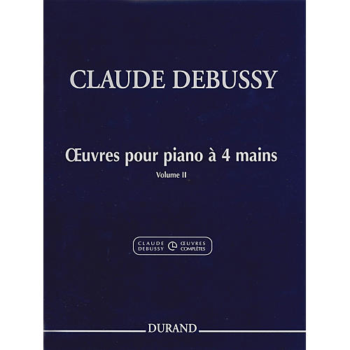 Editions Durand Works for Piano, 4 Hands (Volume 2) Editions Durand Series-thumbnail