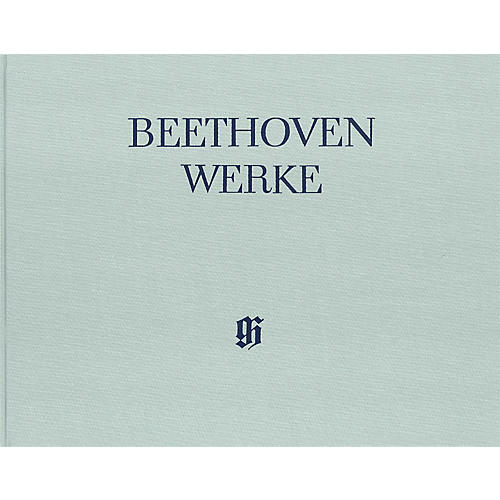 G. Henle Verlag Works for Piano Four-Hands Henle Edition Hardcover by Beethoven Edited by Hans Schmidt