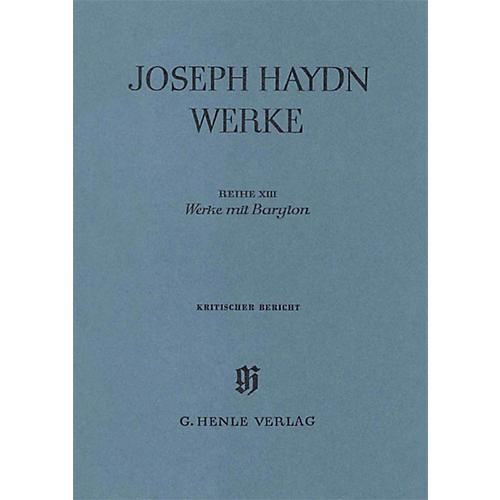 G. Henle Verlag Works with Barytoneseries Henle Edition Series Hardcover
