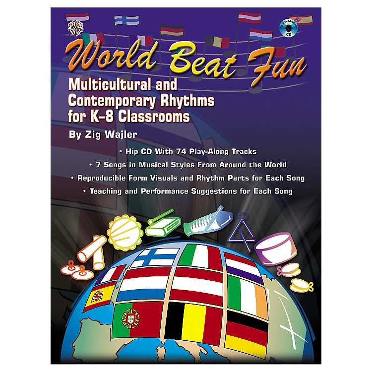 Alfred World Beat Fun Book/CD