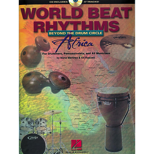 Hal Leonard World Beat Rhythms Africa: Beyond the Drum Circle (Book/CD)