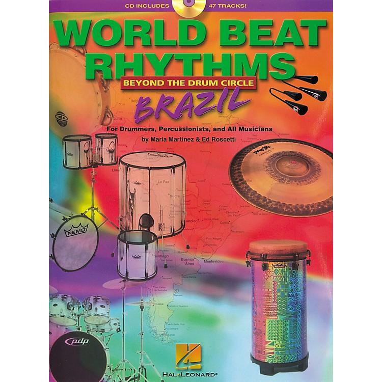 Hal LeonardWorld Beat Rhythms Brazil (Book/CD)