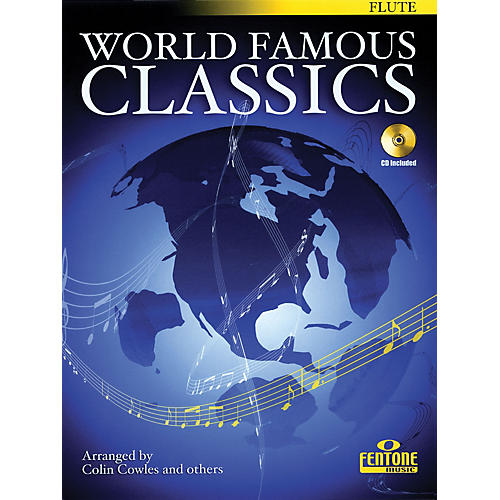 Fentone World Famous Classics (Alto Sax) Fentone Instrumental Books Series Book with CD