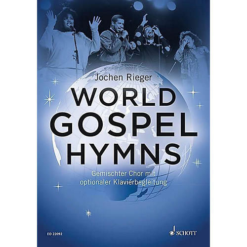 Schott World Gospel Hymns SATB with Piano Composed by Various