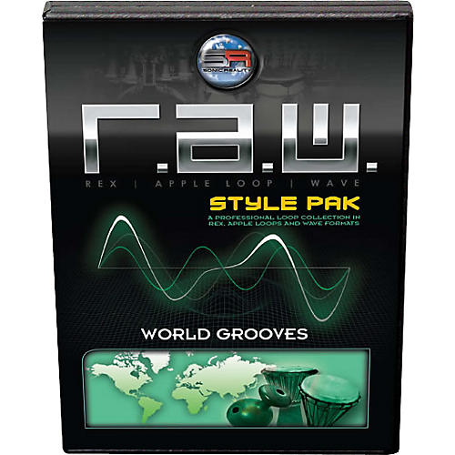 Sonic Reality World Grooves R.A.W. Style Pak