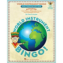 Hal Leonard World Instrument Bingo: Digital Edition Teacher CD-ROM Composed by Cheryl Lavender