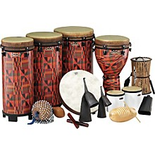 Remo World Music Drumming Packages Package B - 44 Instruments