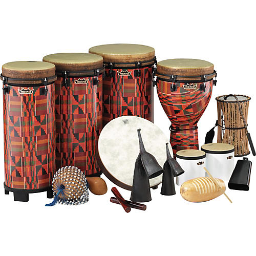 Remo World Music Drumming Packages Package C - 40 Instruments