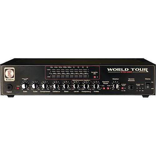 Eden World Tour Black Series WTB1000 Bass Amp Head