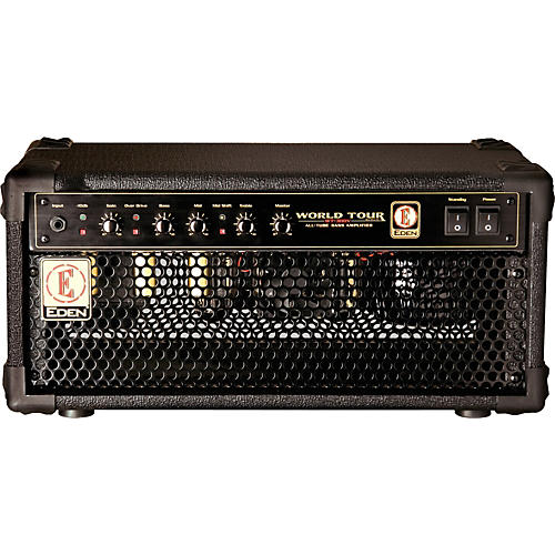 Eden World Tour Black Series WTB300V All-Tube Bass Amp Head-thumbnail