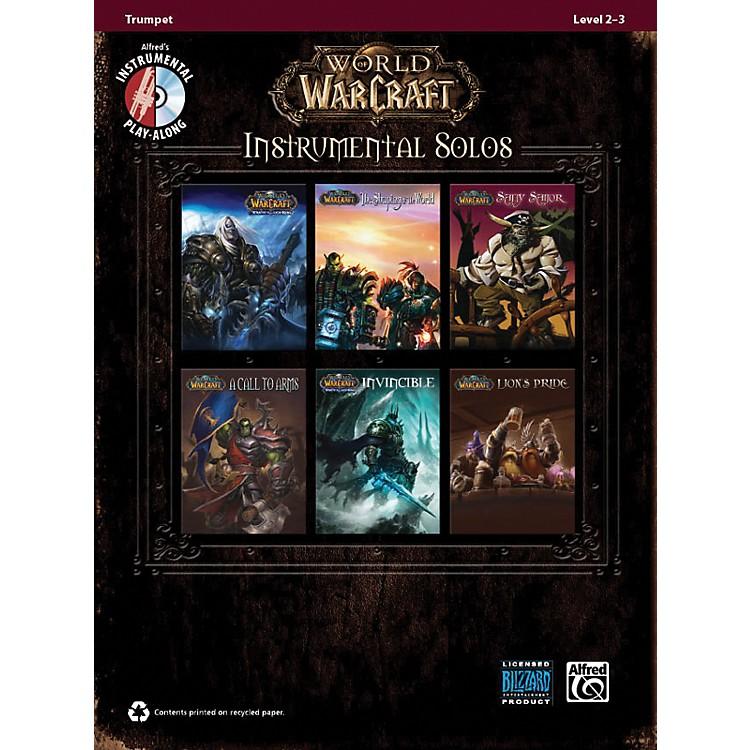 AlfredWorld of Warcraft Instrumental Solos Trumpet Book & CD