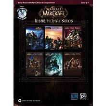 Alfred World of Warcraft Instrumental Solos for Strings Viola Book & CD