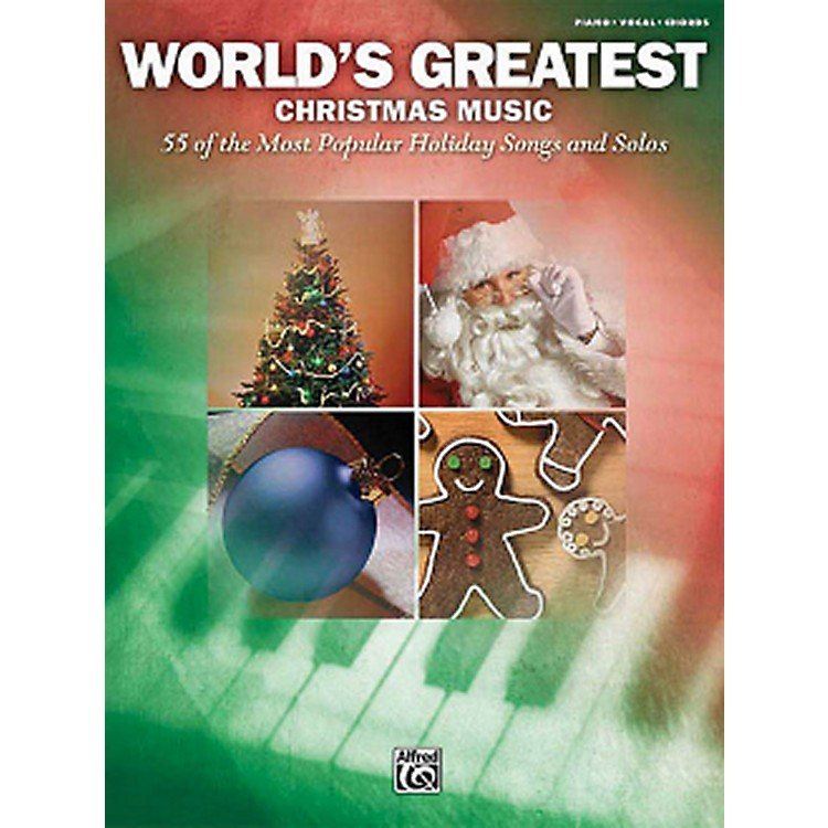 Hal Leonard World's Greatest Christmas Music 55 Most Popular Holiday Songs For Piano/Vocal/Guitar