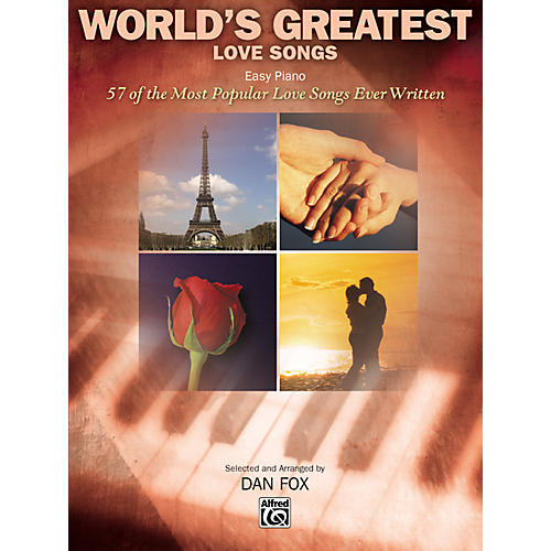 Alfred World's Greatest Love Songs Easy Piano