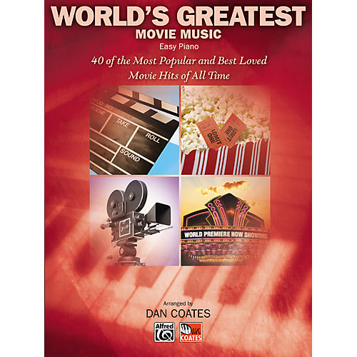 Alfred World's Greatest Movie Music Easy Piano