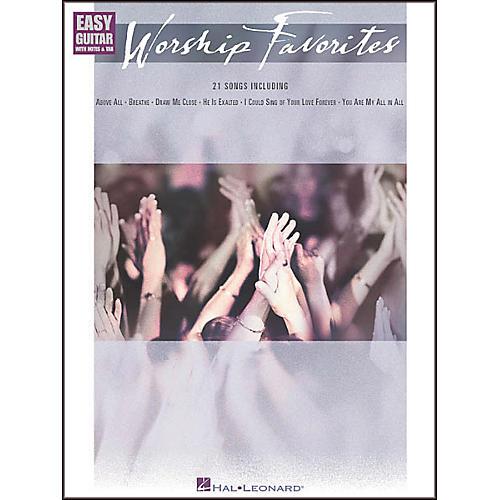 Hal Leonard Worship Favorites Easy Guitar Book
