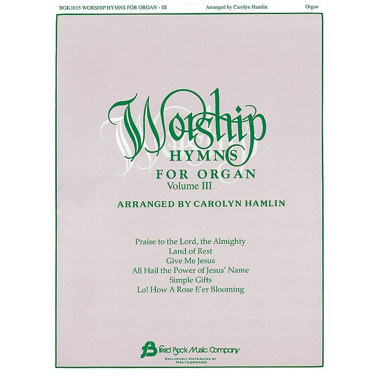 Hal LeonardWorship Hymns For Organ - Volume 3