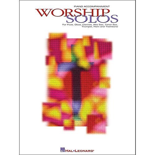 Hal Leonard Worship Solos Piano Accompaniment for Winds