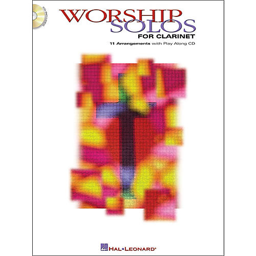 Hal Leonard Worship Solos for Clarinet Book/CD
