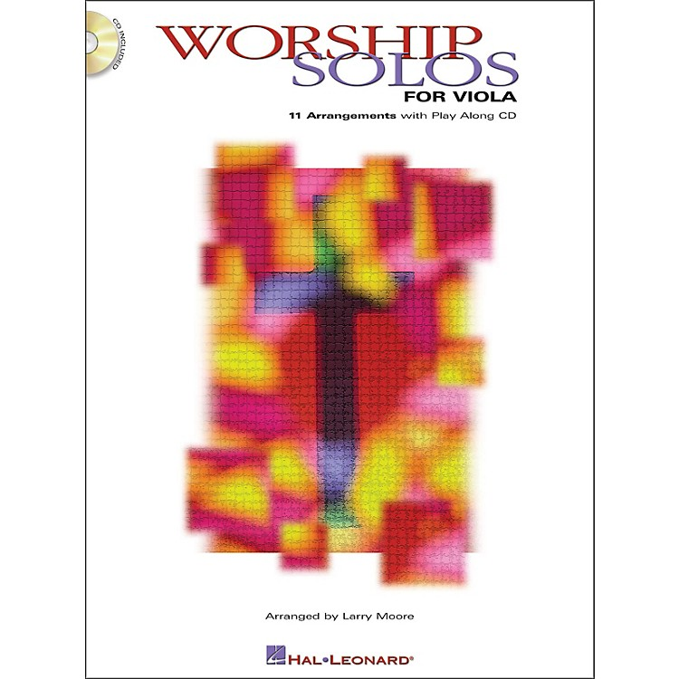 Hal Leonard Worship Solos for Viola Book/CD