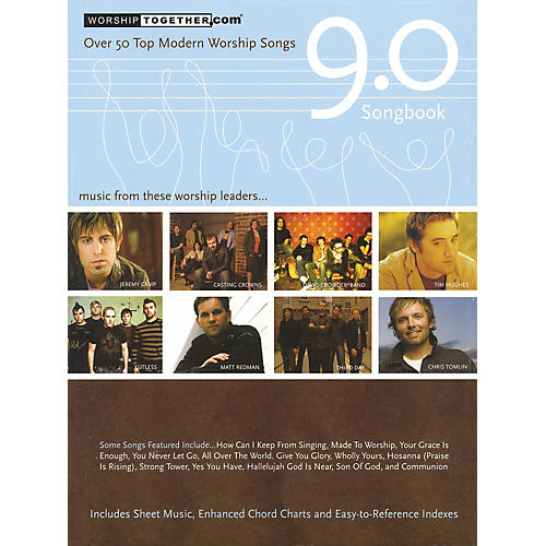 Hal Leonard Worship Together Songbook 9.0 Sacred Folio Series Softcover Performed by Various-thumbnail