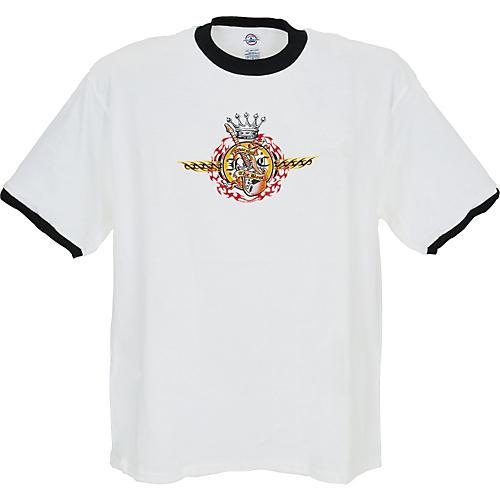 Musician's Friend Worship the Best Ringer T-Shirt-thumbnail