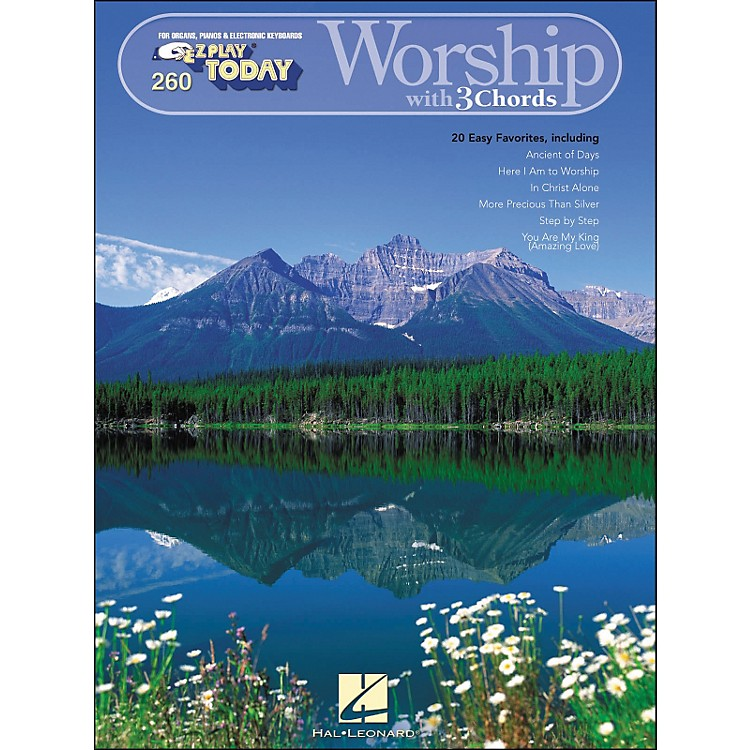 Hal Leonard Worship with 3 Chords E-Z play 260